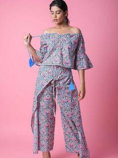 43ebe8225a0  coordsset  multicolour  diwalidresses  indianfashion  floraljumpsuits   christmasdresses  offshoulder  jumpsuits