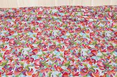 Tkanina bawełniana Robert Kaufmann -Kolorowe Ptaki - Mami-Zoi - Bawełna