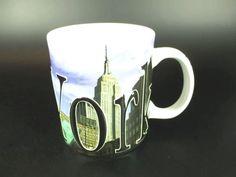 Alles, was New York zu bieten hat auf einer Kaffeetasse. Ein sowohl schönes, als auch praktisches Souvenir, mit stolzen 500 ml Fassungsvermögen.