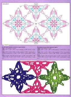 SOLO PUNTOS: crochet esquema