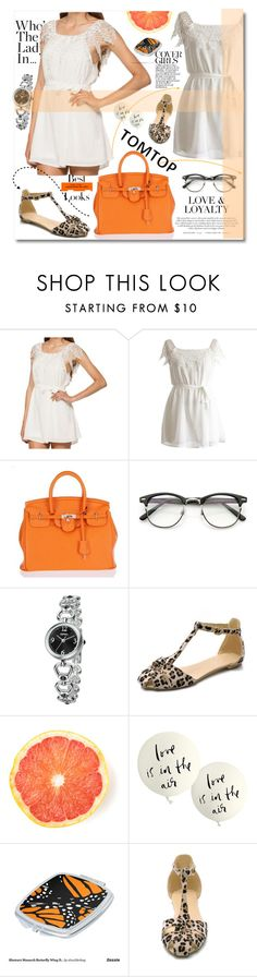 """""""TOMTOP 28."""" by lillili25 ❤ liked on Polyvore featuring Kate Spade, MML, vintage, tomtop and tomtopstyle"""