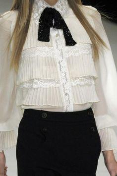 23 Looks with Fashion Blouses Glamsugar.com Valentino