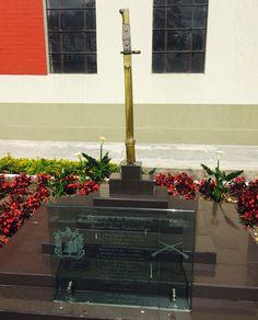 Homenaje Oración a la Infantería. en Escuela de Infantería del Ejército Nacional De Colombia.