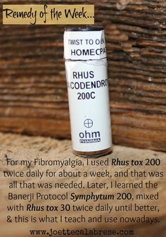 Find out more about how to address Fibromyalgia naturally. ~joettecalabrese.com: