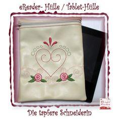 e-Reader Taschen - eReader Hülle, Ebook-Reader Hülle - ein Designerstück von dietapfereschneiderin bei DaWanda