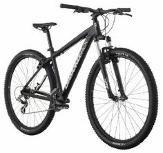 """Butted 6061-T6 Aluminum Overdrive 29r Frame SR Suntour XCT 29"""" 100mm Fork Shimano Altus rear derailleur w/EF-51 7spd EasyFire shifters SL-7 Double Wall Rims Promax Alloy Linear Pull Brakes w/Shimano levers"""