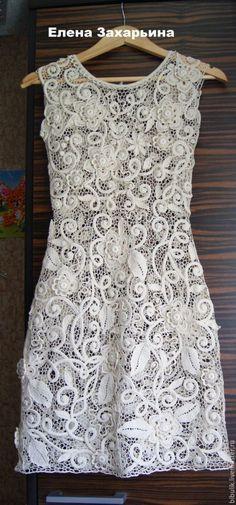 """Купить Выпускное платье """" Винтажное настроение """" - цветочный, платье, платье вязаное"""