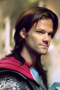 """""""I don't care how long Hemsworth's hair is, you're my Thor"""" -Jensen Ackles talking to Jared."""
