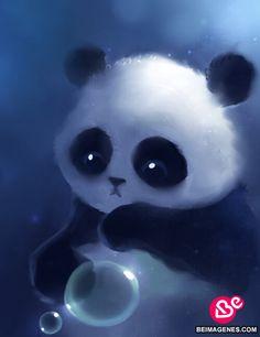 imagenes de pandas tiernos animados con frases - Buscar con Google