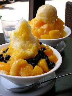 Shaved Ice with Mango