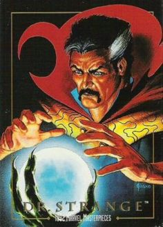 Dr. Strange by Joe Jusko - 1992 Marvel Masterpieces