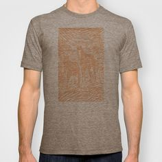 Abstract Buford and Sugar T-shirt by Robert Lee - $18.00 #art #graphic #design #iphone #ipod #ipad #galaxy #s4 #s5 #s6 #case #cover #skin #colors #mug #bag #pillow #stationery #apple #mac #laptop #sweat #shirt #tank #top #clothing #clothes #hoody #kids #children #boys #girls #men #women #ladies #lines #love #horse #donkey #sugar #silver #buford #light #home #office #style #fashion #accessory #for #her #him #gift #want #need #love #print #canvas #framed #Robert #S. #Lee