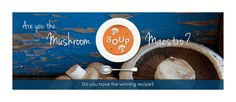 We are looking for the ‪#‎Mushroom‬ Soup Maestro. Send in your ‪#‎recipe‬ and you stand a chance to win Jamie Oliver pots to the value of R4 000! Enter here: http://ow.ly/npqWw