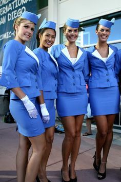 Pan Am Stewardesses 2011