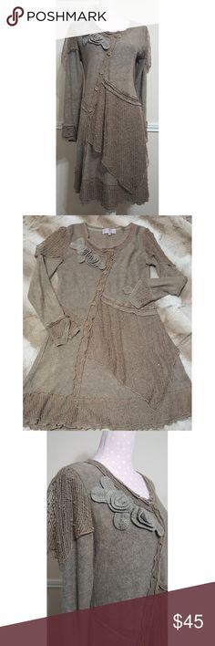 Pretty Angel midi dress EUC,  cute midi dress, more like olive green color, beautiful details throughout whole dress  A7 * Please see photos and ask questions before purchasing  * I am always open to a reasonable offers * Please, be kind and leave a review after receiving your purchase   Thank you for visiting my closet and Happy Poshing! ❤❤ Pretty Angel Dresses Midi