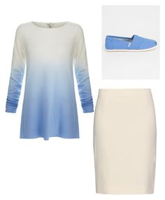 """Should I put blue in this?"" by a-b-underwood ❤ liked on Polyvore featuring Joie, Diane Von Furstenberg and TOMS"