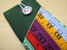 Tape measure iPhone 5 sleeve,Xperia cover,Fabric phone case,Nokia phone cover,iPhone cell pouch,iPod sleeve,cell phone ,Galaxy  phone wallet by UniquecasesUK on Etsy
