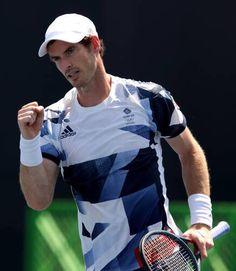 Andy Murray, Olympics, Tennis, Mens Tops, T Shirt, Fashion, Supreme T Shirt, Moda, Tee Shirt