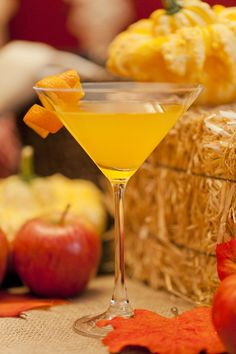 Orange Spiced Pumpkin Martini