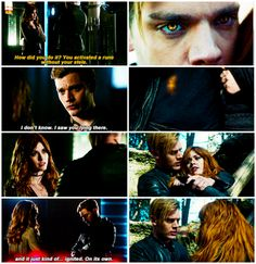 😭😭😭 I want Lilly Collins and Jamie Campbell Bower💜 Shadowhunters Series, Shadowhunters The Mortal Instruments, Clary E Jace, Immortal Instruments, Dominic Sherwood, Jace Wayland, Clace, City Of Bones, Tv Show Quotes
