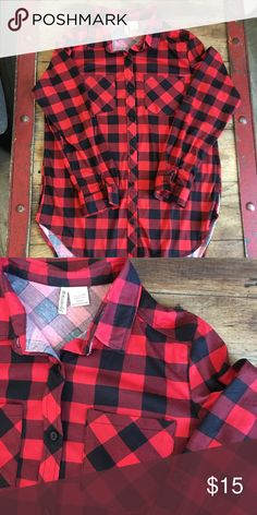 02eef68e2a Fall Flannel This is the perfect top to pair with your favorite vest this  fall!