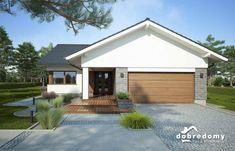 Irys - Dobre Domy Flak & Abramowicz House Layout Plans, House Layouts, House Plans, Facade House, Shed, Outdoor Structures, House Design, Outdoor Decor, House Ideas