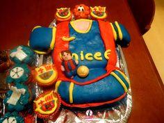 Barça cake