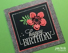 Stampin' Up!: Occasions Farewell 2016 Blog Hop (Part 2) | Handmade by Jason Loucks - JasonLoucks.net
