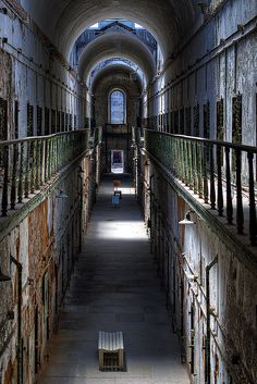 eastern state penitentiary, philadelphia, pa