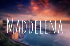 This name is a twist on Madeleine, so your baby can bear both Italian and French sophistication.