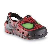 Marvel Comics Toddler Boy's Spider-Man Black/Red/Gray Clog
