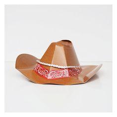 6 chapeaux de cow-boy Meri Meri