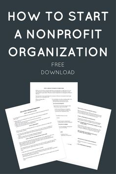 business plan for startup non-profit fundraising