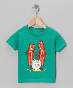 This tasty tee will sate any darling's hunger for a bold, flavorful graphic. With its clever and humorous take on a classic, this delicious piece pairs conveniently with a wide assortment of bottoms.