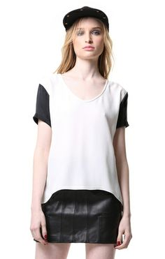 Primary New York Tom Tee in Black/White, $132.00
