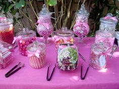 Candy Bar Ideas