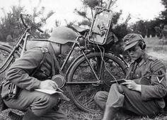 Operadores de radio alemanes.