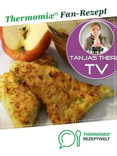 Ruck Zuck Reibekuchen aus dem Backofen von TanjasThermiTV. Ein Thermomix ® Rezept aus der Kategorie sonstige Hauptgerichte auf www.rezeptwelt.de, der Thermomix ® Community.
