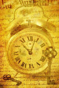 Yellow clock....