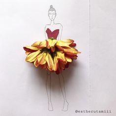 3D fashion illustrasions