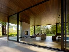 Nice use of timber on the ceilings too.  desire to inspire - desiretoinspire.net - DowlingStudios
