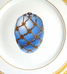 azul y oro huevo
