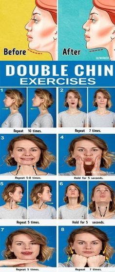 7 Most Effective Exercises to Get Rid of a Double Chin. 7 Most Effective Exercises to Get Rid of a Double Chin. Mental Health Articles, Health And Fitness Articles, Health Tips, Health Fitness, Key Health, Fitness Workouts, Double Chin Exercises, Double Chin Workout, Facial Yoga