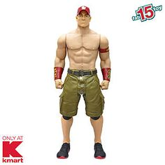 """WWE - John Cena 31"""" Action Figure - KMART EXCLUSIVE! Fab 15 Toy List 2014 - Hot Holiday Toys"""