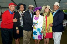 Links and guests at the inaugural Juleps and Jazz Derby day event in May, 2016. Photos courtesy of our official photographer, Link Theresa Knox.