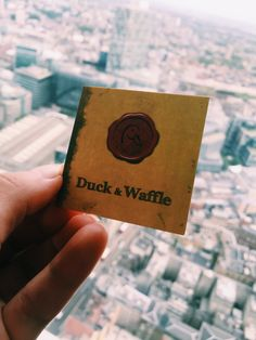 Sky High Gluten Free Breakfast at Duck and Waffle, London
