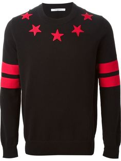Givenchy Star Patch Sweater - - Farfetch.com
