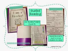 My kiddos love their guided reading folders! I love to use them for reading at instructional levels, fluency practice, responding to reading & tracking their progress!