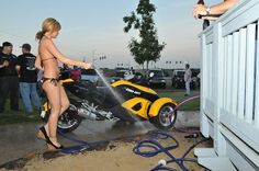 Biker Dating, Bikini Car Wash, Hairy Bikers, Millionaire Dating, Looking For Friends, Single Dating, Hollywood Celebrities, Successful People, Pavement