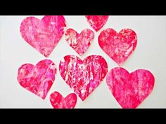 hello, Wonderful - VALENTINE SHAVING CREAM HEART ART WITH KIDS